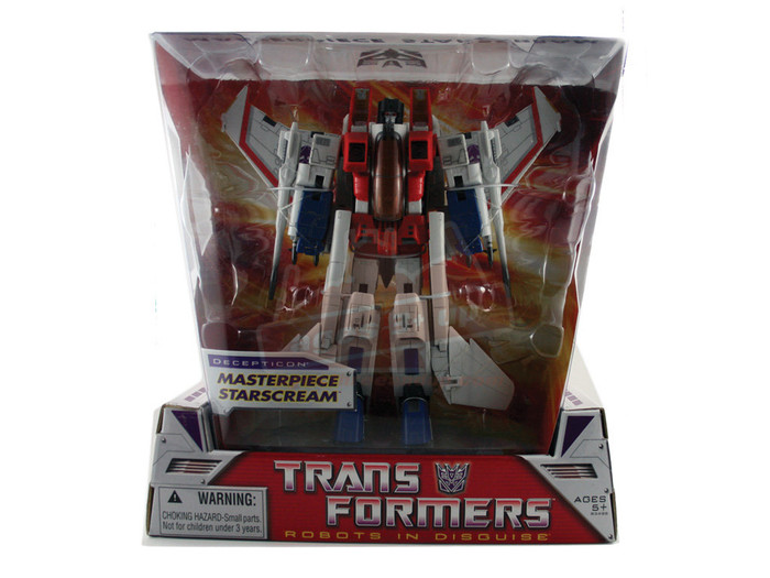 Masterpiece Starscream (Hasbro)