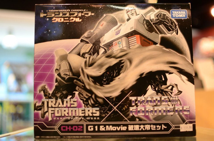 Transformers Chronicles CH02 - G1 Megatron and DOTM Megatron Set