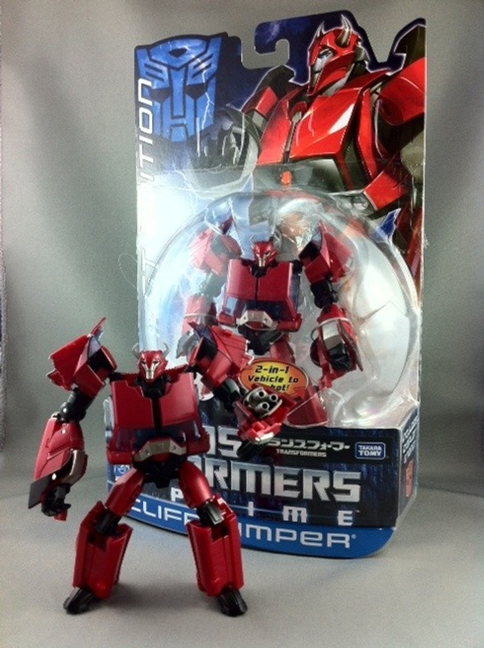 First Edition Cliffjumper (Japan Color Exclusive)