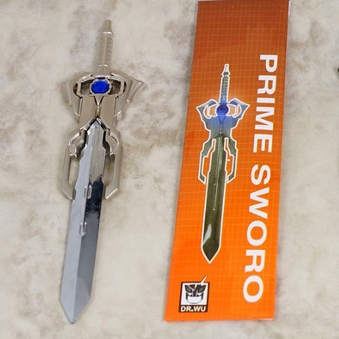 Dr. Wu TP-05 Prime Energon Sword (Blue Matrix)