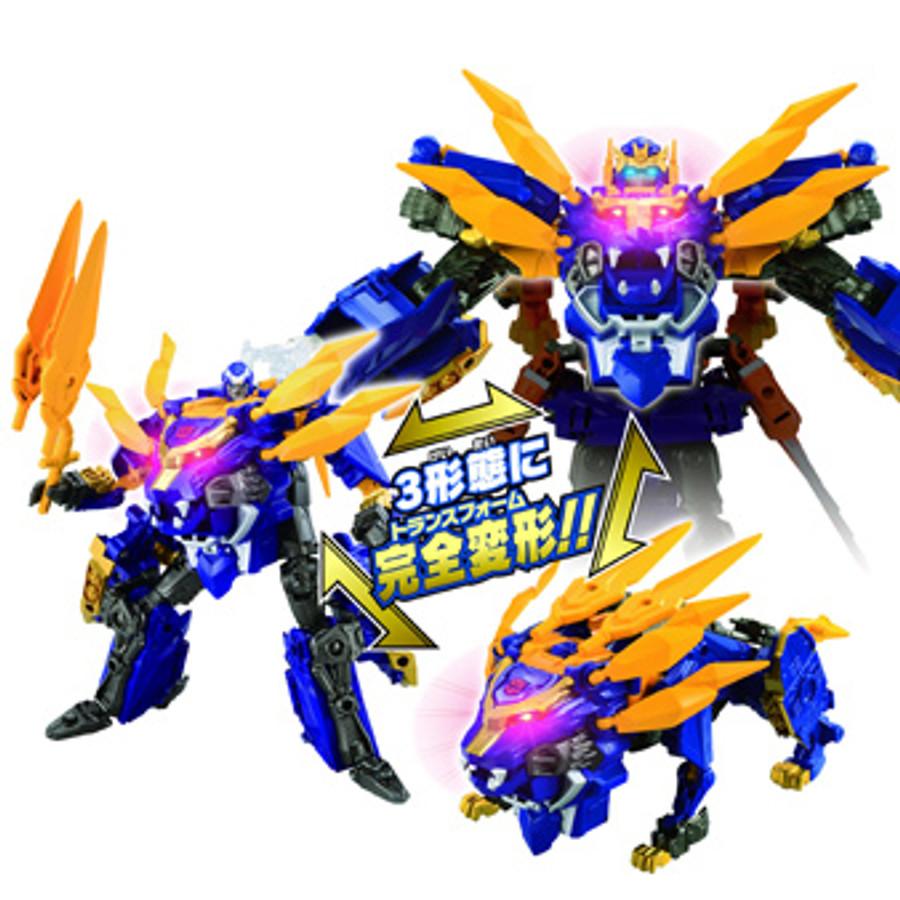 Transformers GO! - G05 Gekisoumaru (Takara)