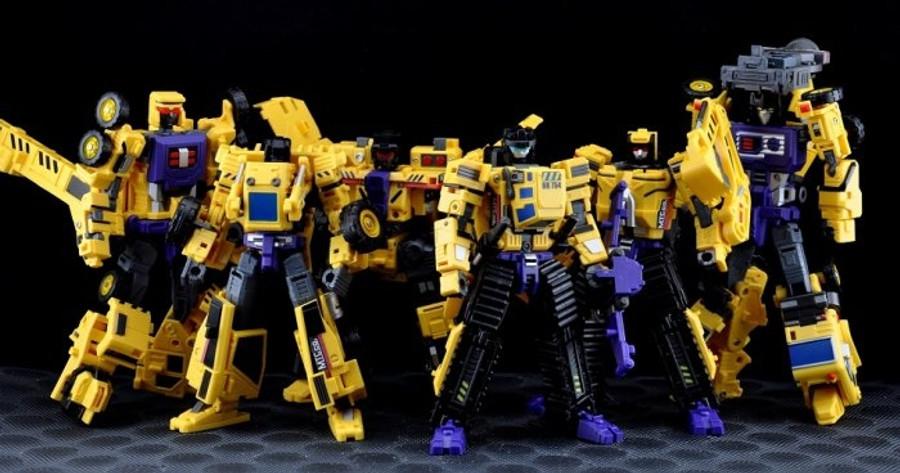 Maketoys - MTCombiner - Yellow Giant - Complete Set