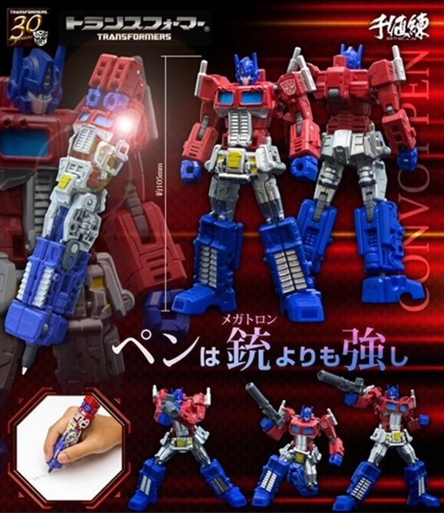 Transformers Convoy Transforming Pen (Optimus Prime)