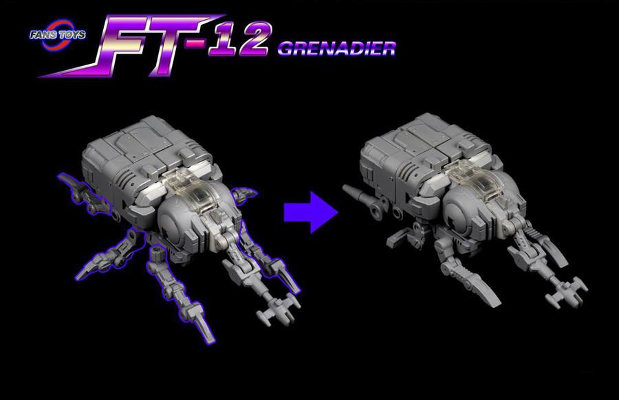 Fans Toys - FT-12 Grenadier Grey Chest Version