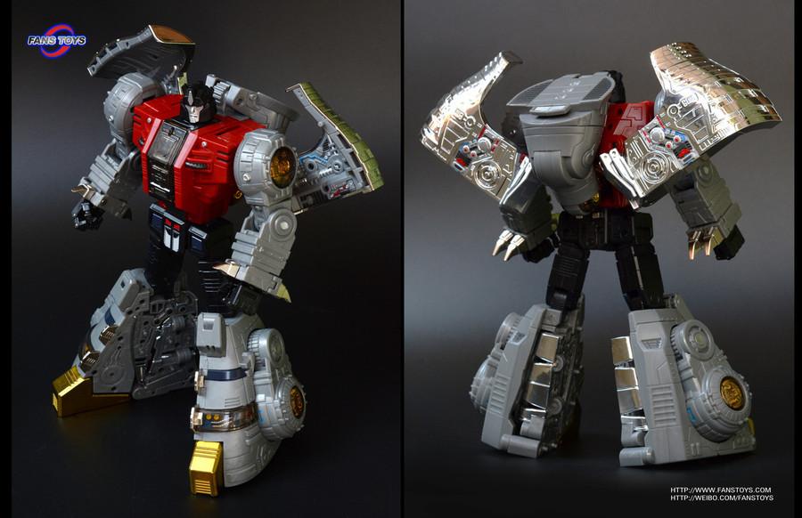 Fans Toys - FT-07 Stomp - Iron Dibots No.4 (Restock)