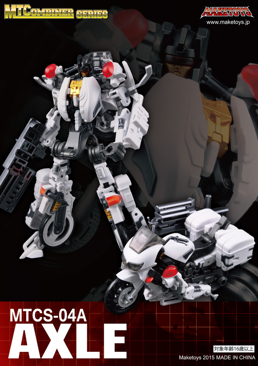 Maketoys Combiner Series - MTCS-04A – Axle (Guardia)