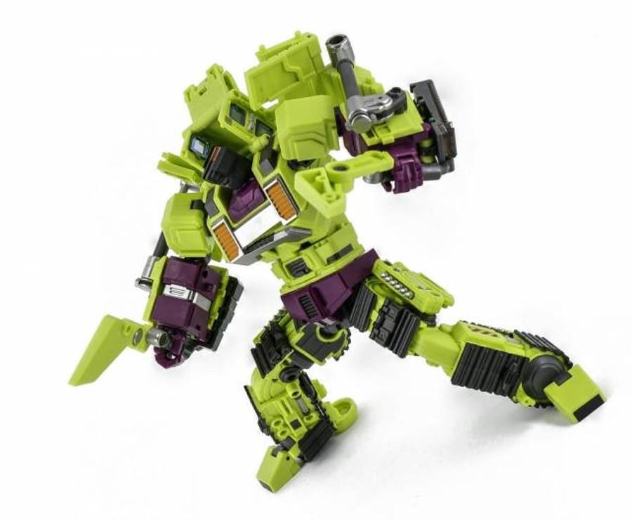 Generation Toy - Gravity Builder - GT-01D Bulldozer