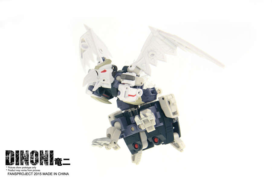 FansProject - Saurus Ryu-Oh: Dinoni