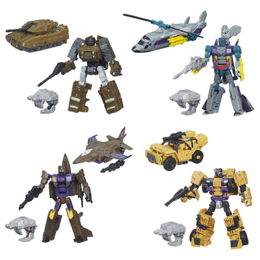 Transformers Generations Combiner Wars Deluxe Wave 5 - Set of 4