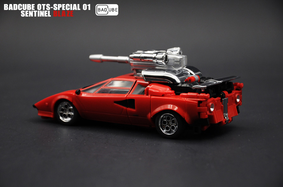 BadCube - OTS-Special 01 Sentinel Blaze