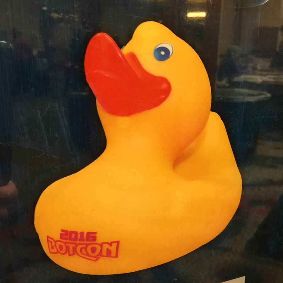 Botcon 2016 - Souvenir Figure - Megatron's Rubber Ducky