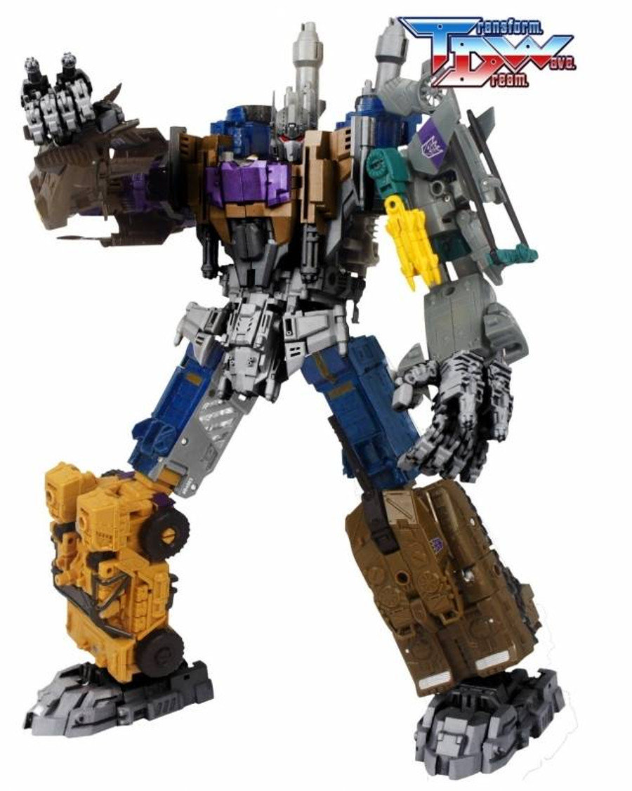 Transform Dream Wave - TCW-01 Bruticus Add-On Set