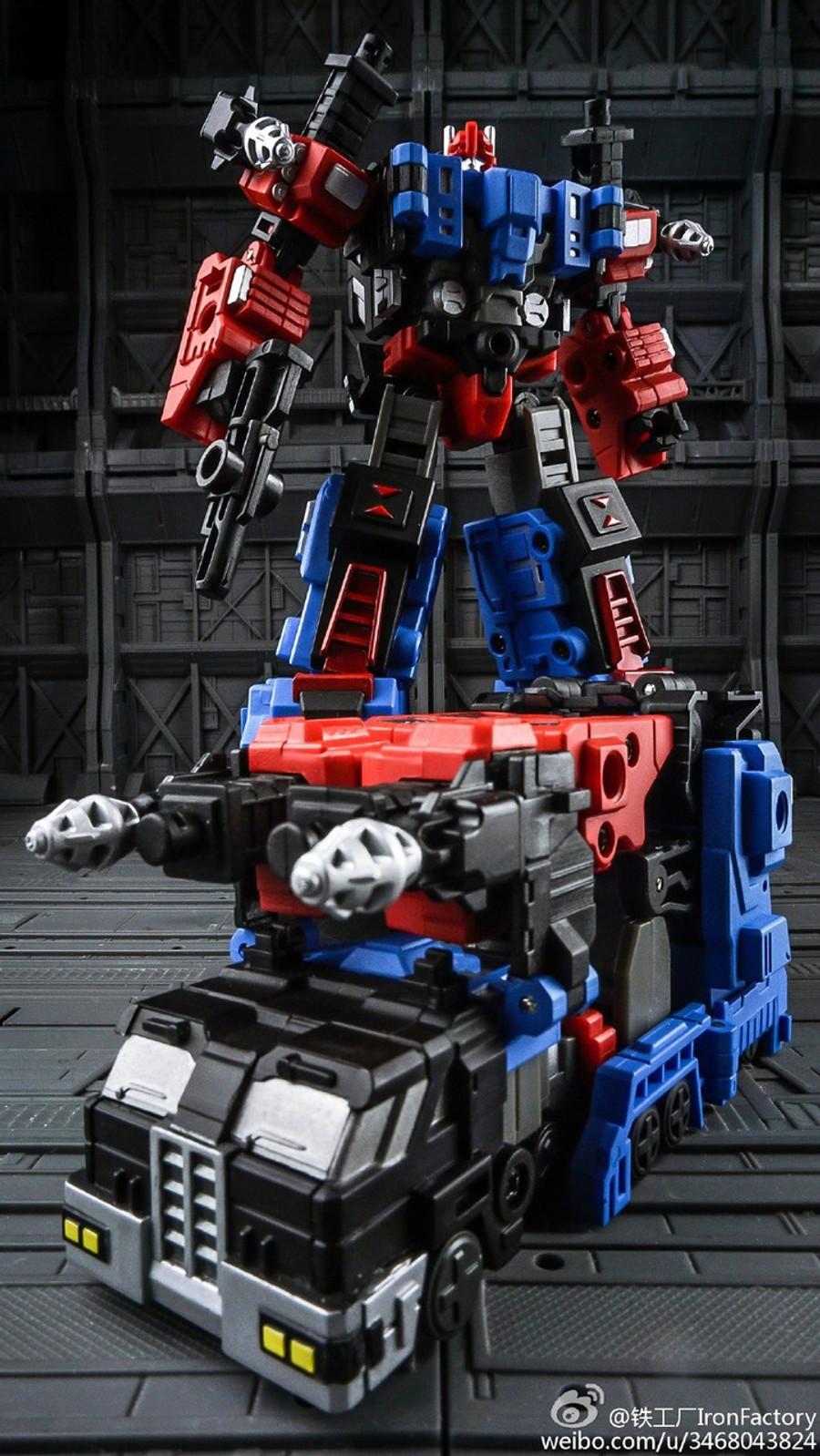 Iron Factory - IF-EX04G DIA City Commander