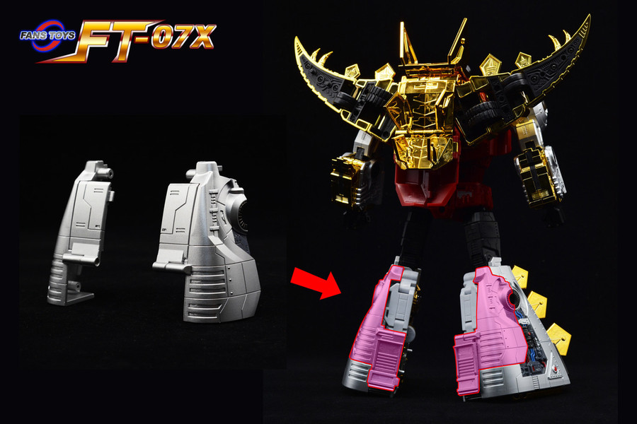 Fans Toys FT-07X - Stomp Limited Edition Colored Version