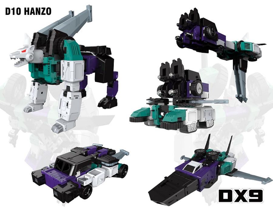 DX9 D10 - Hanzo