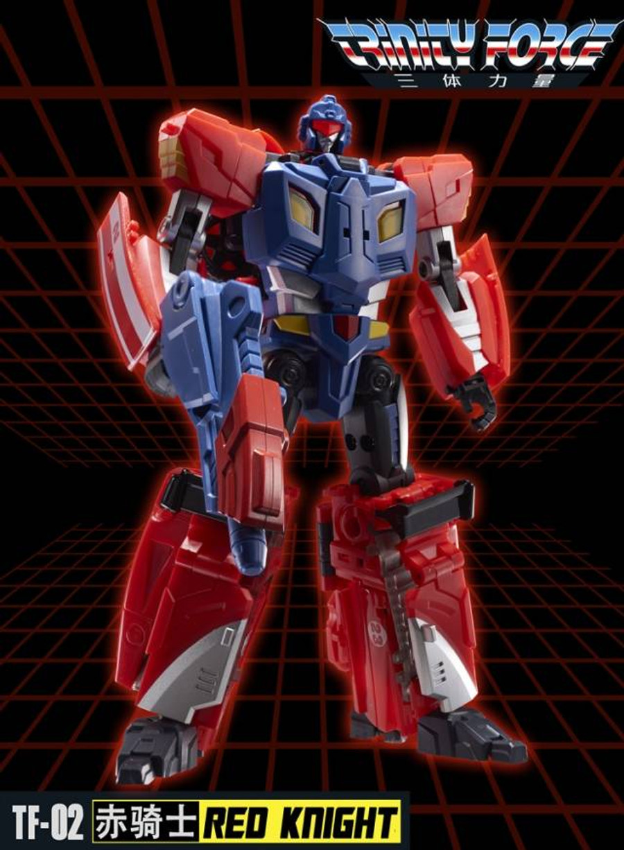 TFC - Trinity Force - TF-02 Red Knight
