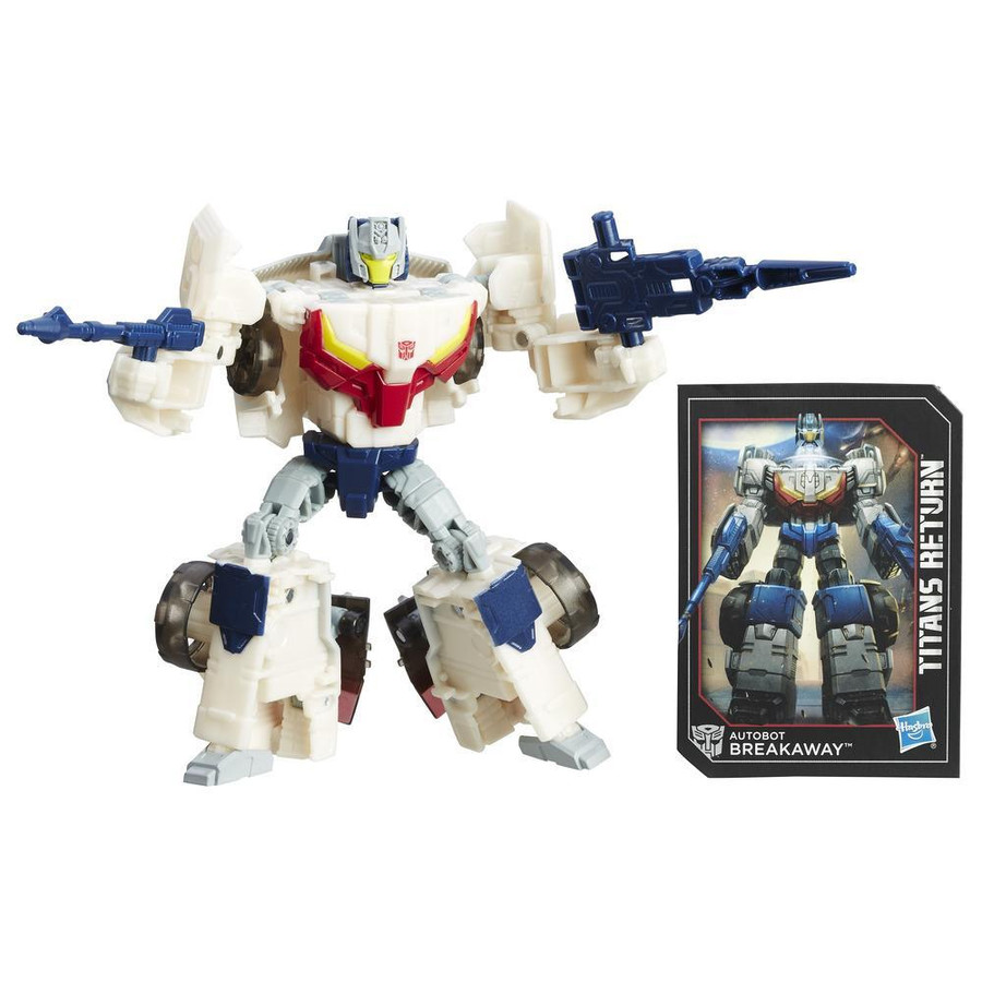 Transformers Generations Titans Return - Deluxe Wave 3 - Autobot Breakaway