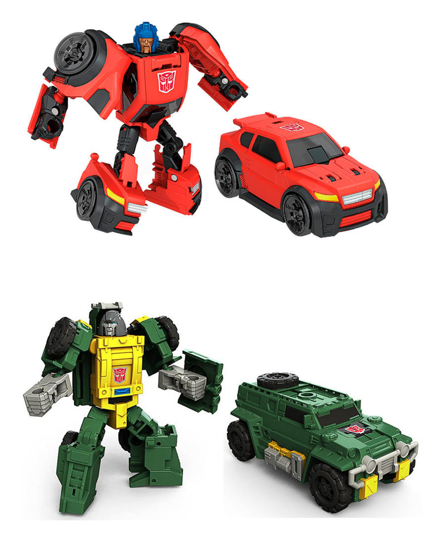 Transformers Generations Titans Return - Legends Class Wave 4 - Brawn & Roadburn