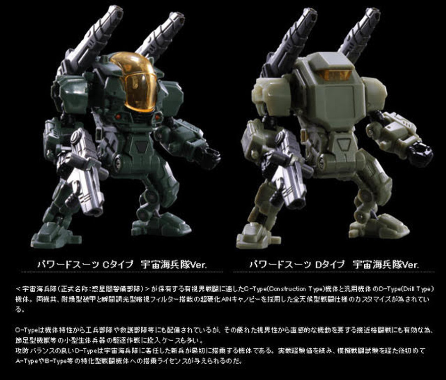 Diaclone Reboot -  DA-10 Powered System Set C&D Type/Cosmos Marines Ver