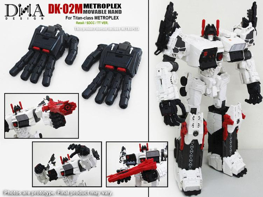 DNA Design - DK-02M Metroplex Movable Hand Kit
