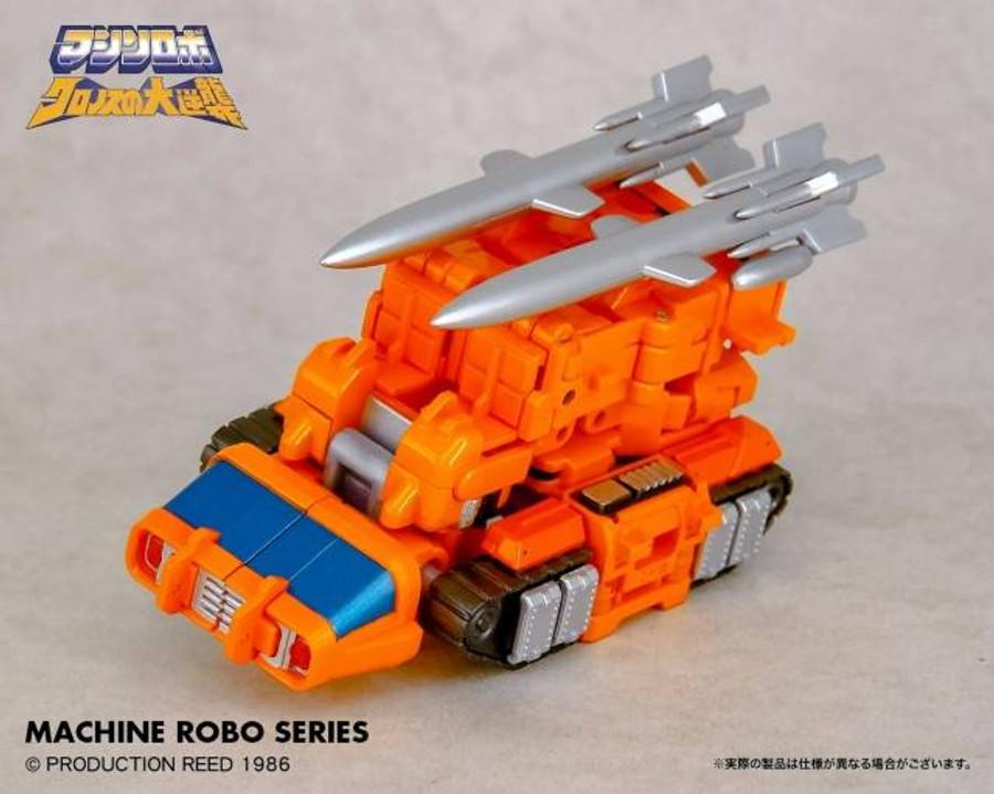 Machine Robo - MR-08 - Missile Tank Robo (Gobots Reboot)