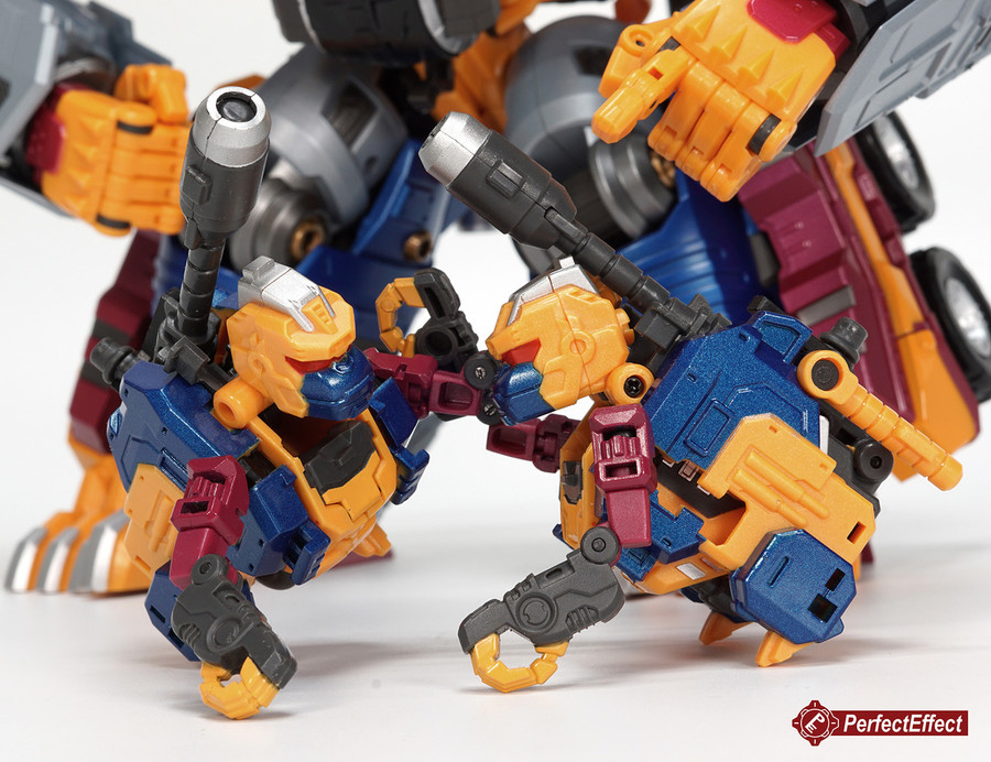 Perfect Effect - PC-19 Perfect Combiner Beast Gorira Jr. 2-Pack