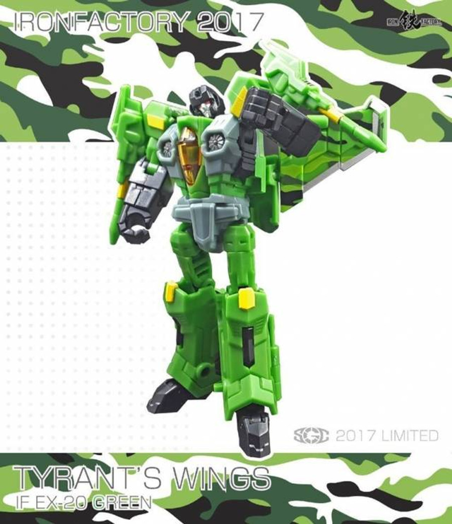 Iron Factory - IFEX20G Wing of Tyrant - Green