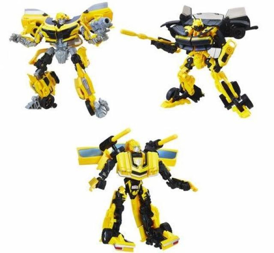 Transformers Tribute - Bumblebee Evolution 3 Pack