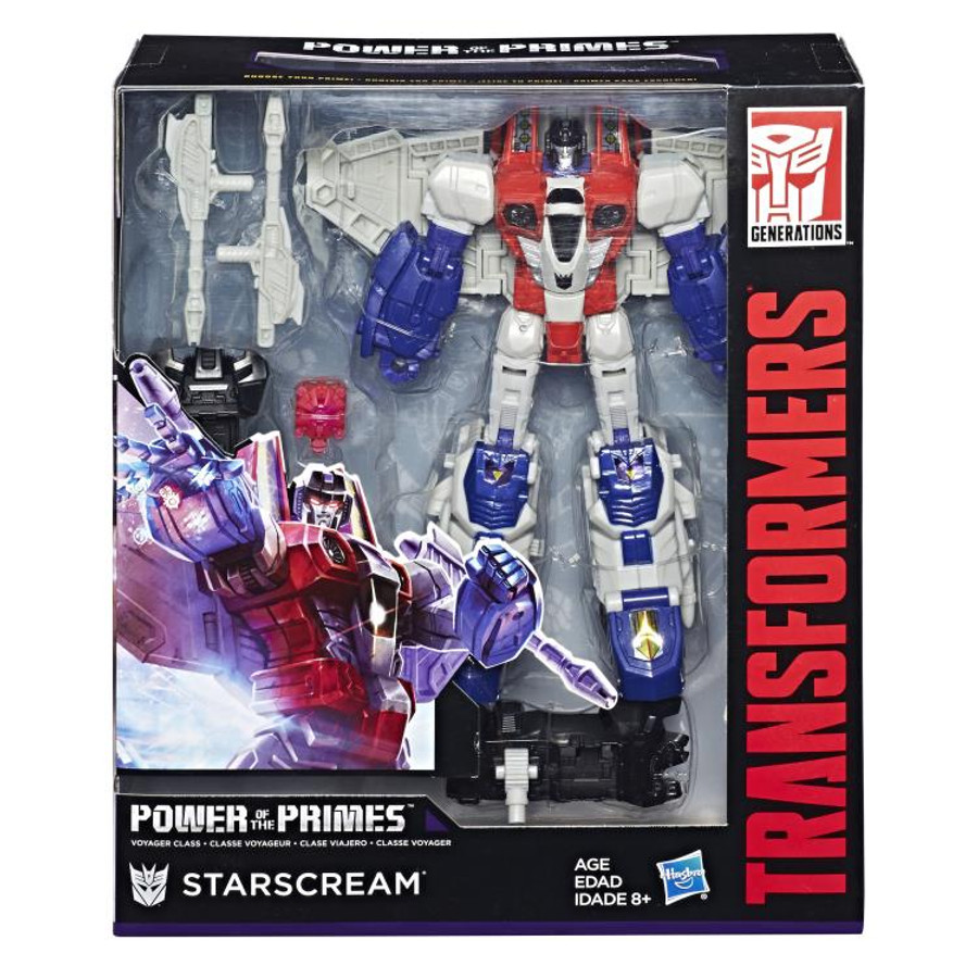 Transformers Generations Power of The Primes - Voyager Starscream