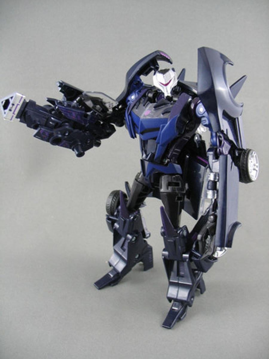 AM-14 Decepticon Vehicon witn Micron Arms