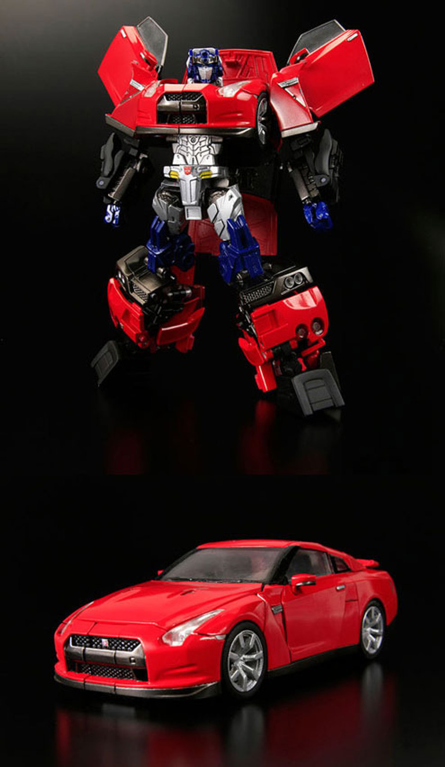 Alternity A-01 Nissan GT-R Convoy Red