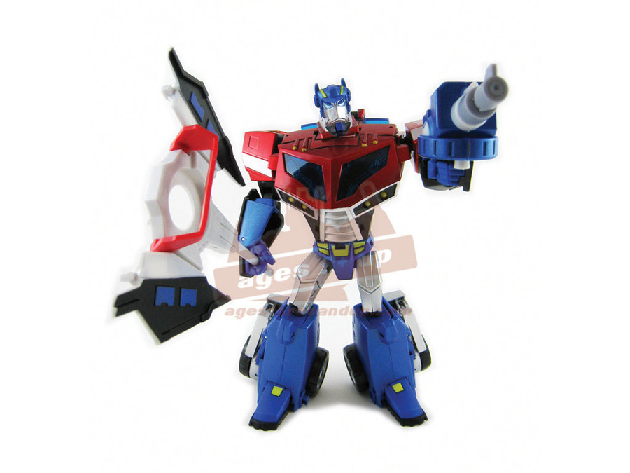 TA-01 Animated Optimus Prime (Voyager Class)