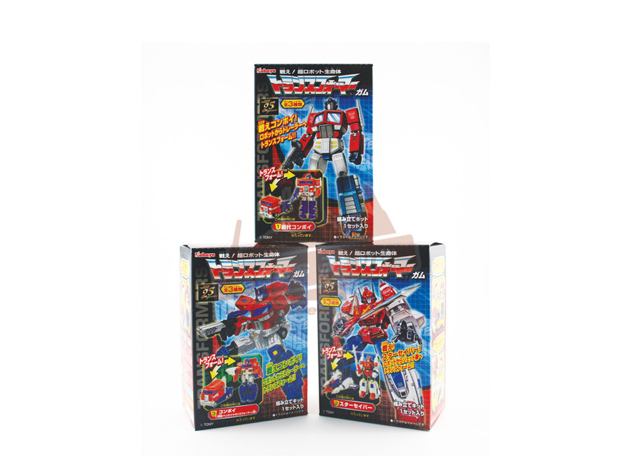 Transformers Gashapon (Capsule Toys) - Set of 8