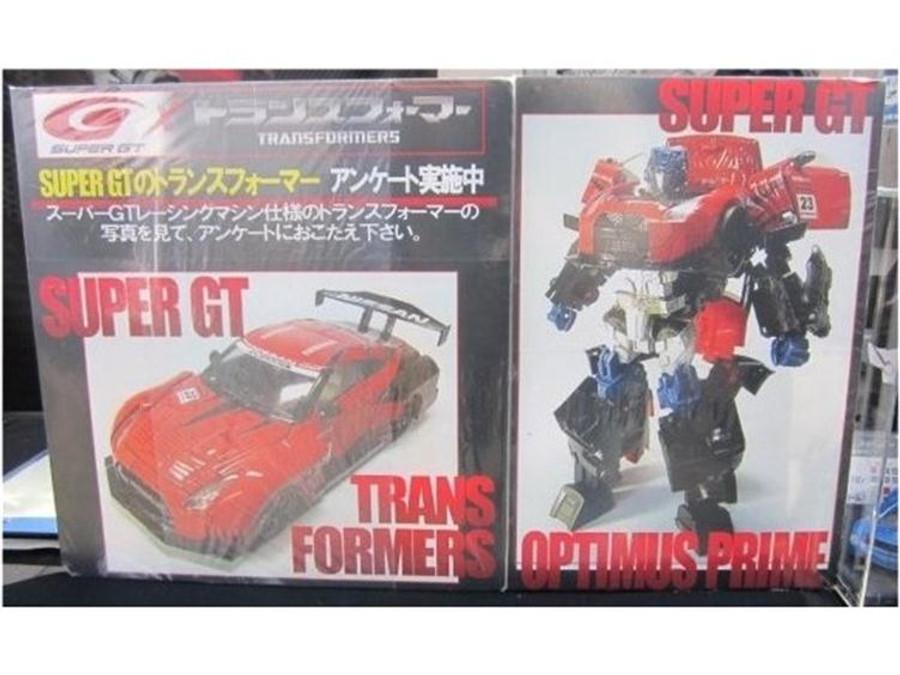 Alternity Transformers x Super GT 01 GTR Prime