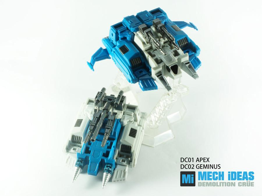 Mech Ideas - Demolition Crue Set of DC-01 Apex & DC-02 Geminus