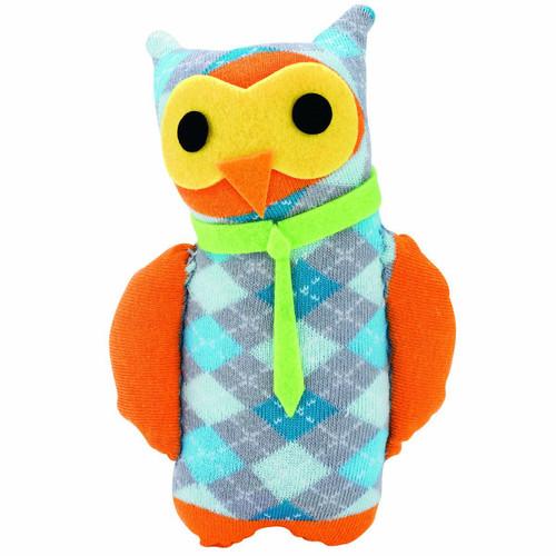Sew Cute Sock Owl argile