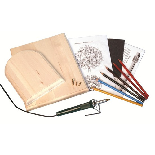 Deluxe Woodburning Kit contents