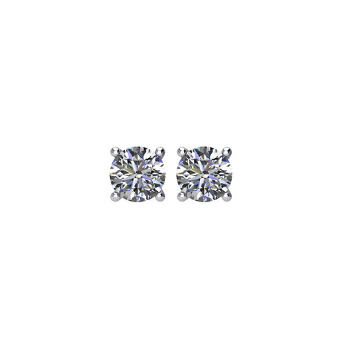 0.25 ct tw Round Diamond Stud Earrings