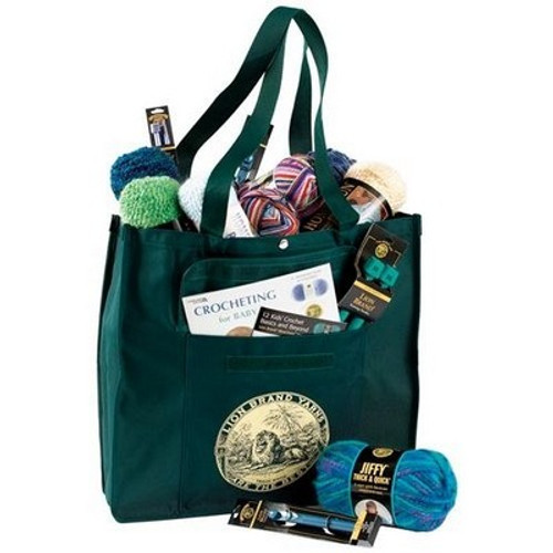 Lion Brand Yarn Tote Bag