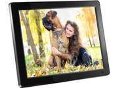 "Aluratek ADMPF512F 12"" 800 x 600 Digital Photo Frame with 512MB Built-in Memory"