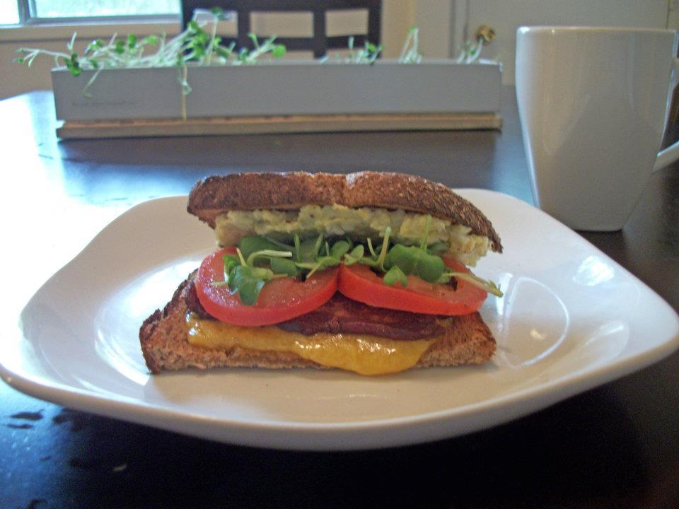 Microgreen Sandwich