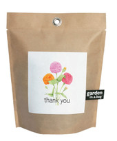 Garden-in-a-bag Thank You Zinnia
