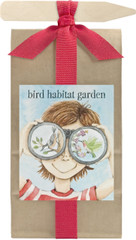 Kids Scatter Garden Bird