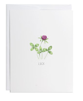 Luck Greeting Card