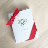 Watercolors Holiday Gift Box