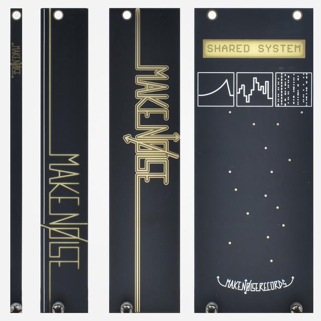 Black Blank Panels