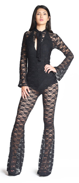 Zora Lace Jumpsuit