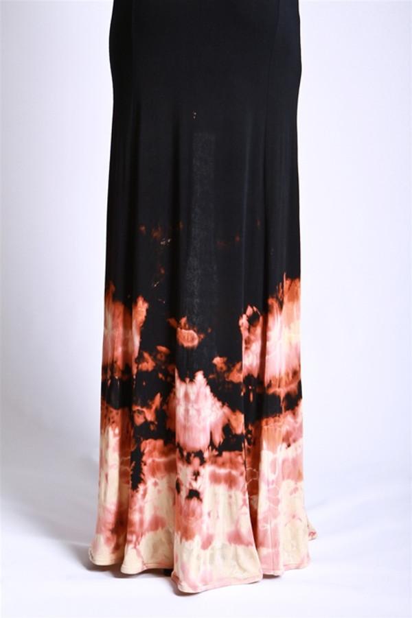 Fire Goddess Panel Dress