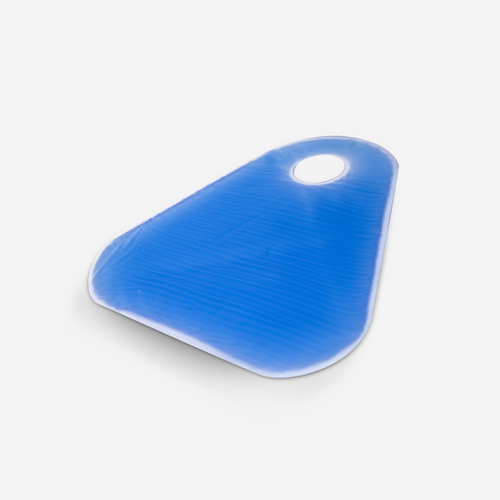 """GP- 6100 Fracture Table Hip Pad with 1¾"""" Hole for Perineal Post"""
