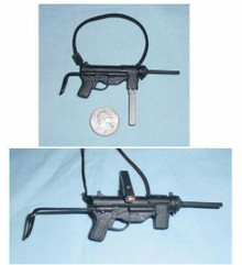 Miniature 1/6th Scale WWII US Grease Gun & Clip